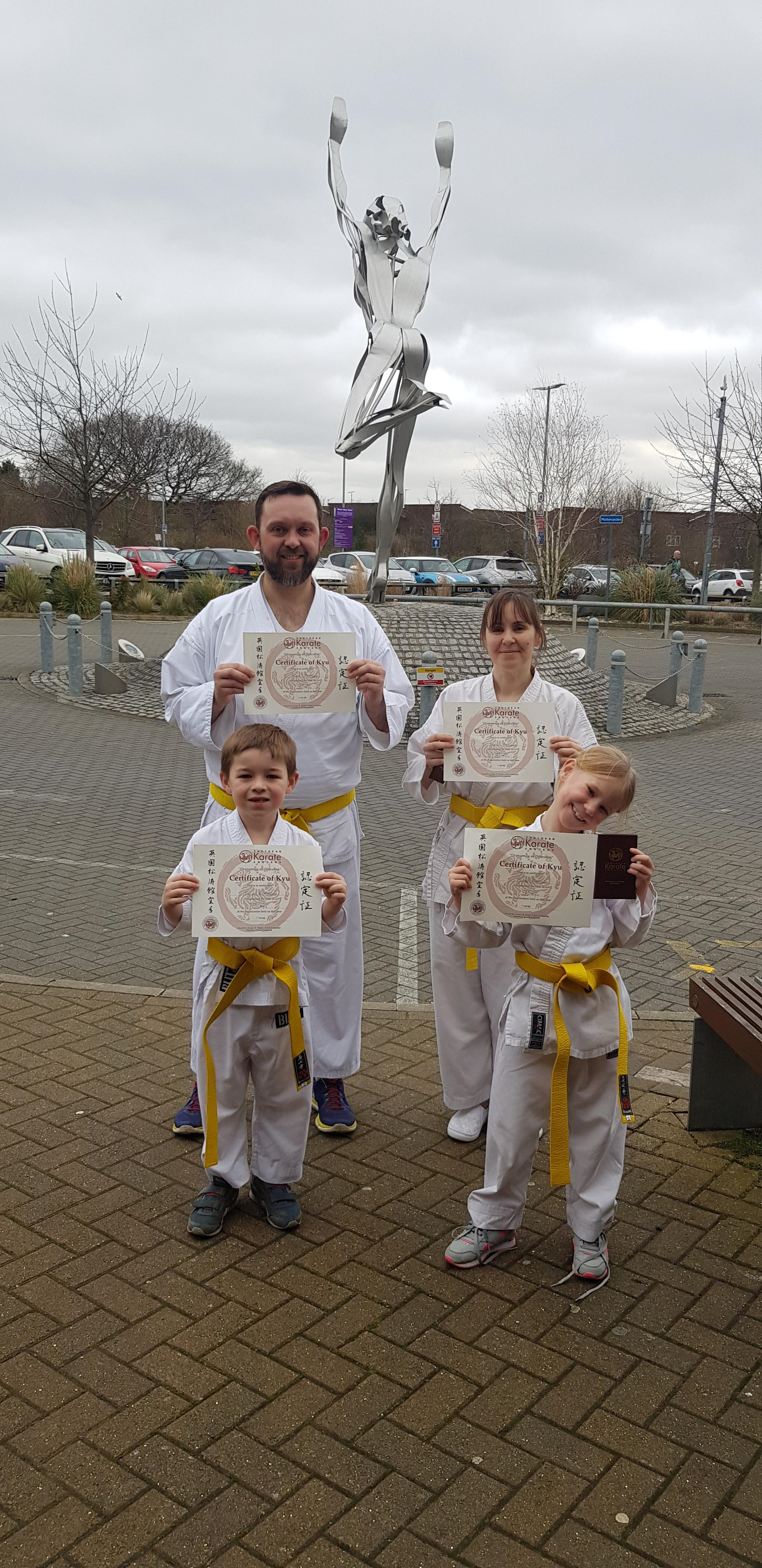 Sun 15th March 2020 Gradings